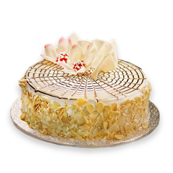 Marvelous Send Almond Flakes Cake Gifts To Mysore Funny Birthday Cards Online Inifodamsfinfo