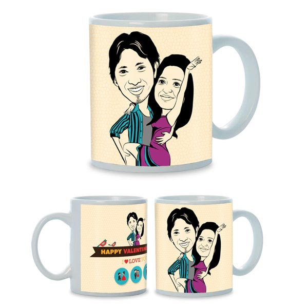 Always in My Heart Mug for Couple
