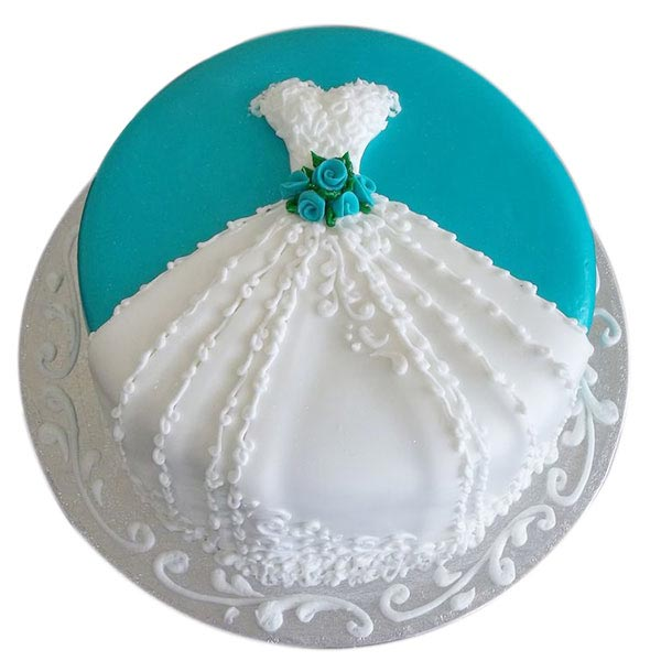 Bridal Shower Cake - 1.5Kg