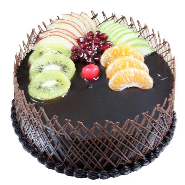 Chocolatey Fruit Cake