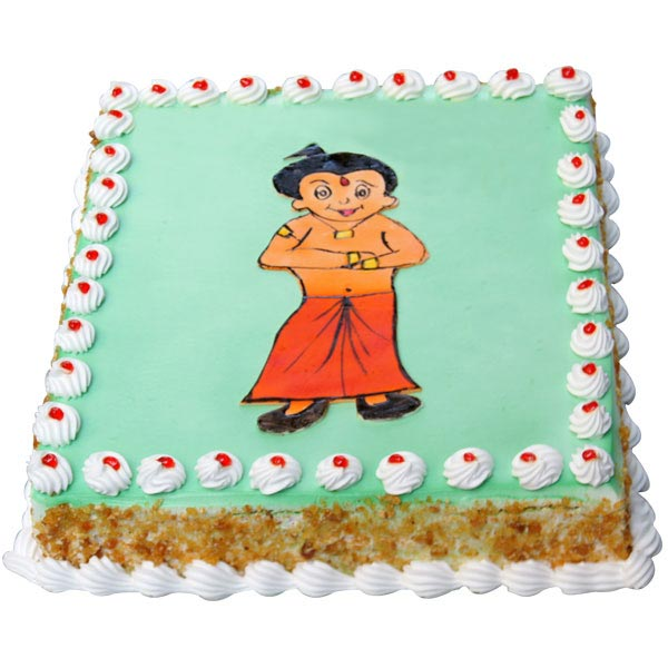 Send Chota Bheem Cake - 2 Kg Gifts to India