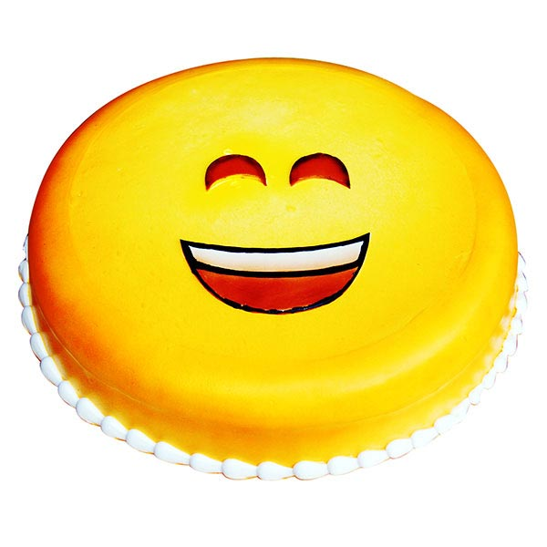 Emoji Happiness Cake