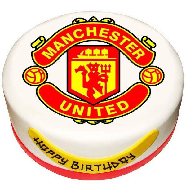 Surprising Send Man Utd Photo Cake Gifts To Pune Birthday Cards Printable Nowaargucafe Filternl