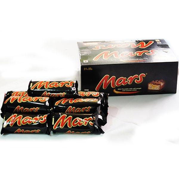 Mars Chocolate - 24 Pieces