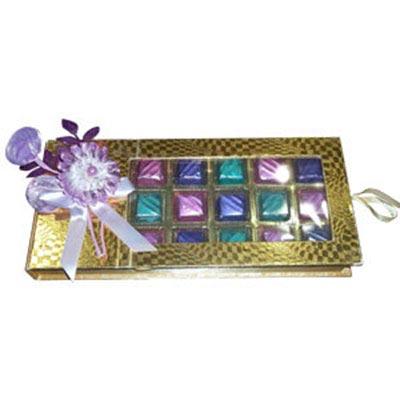 Premium Home Made Chocolate Box - 21 Pcs