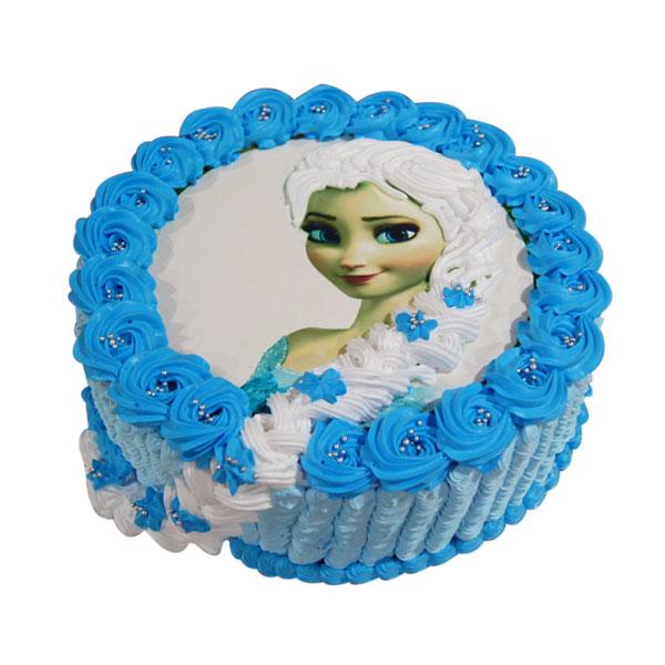 Princess Elsa Cake 2KG Varanasi