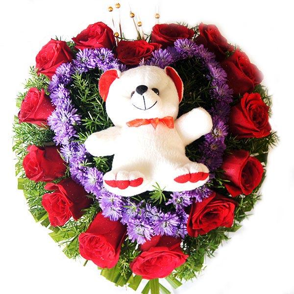 Rose Gift Basket