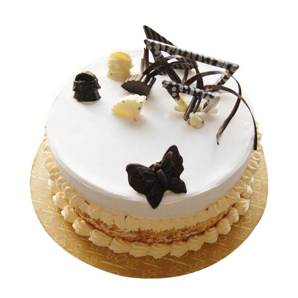 Round Butterscotch Cake