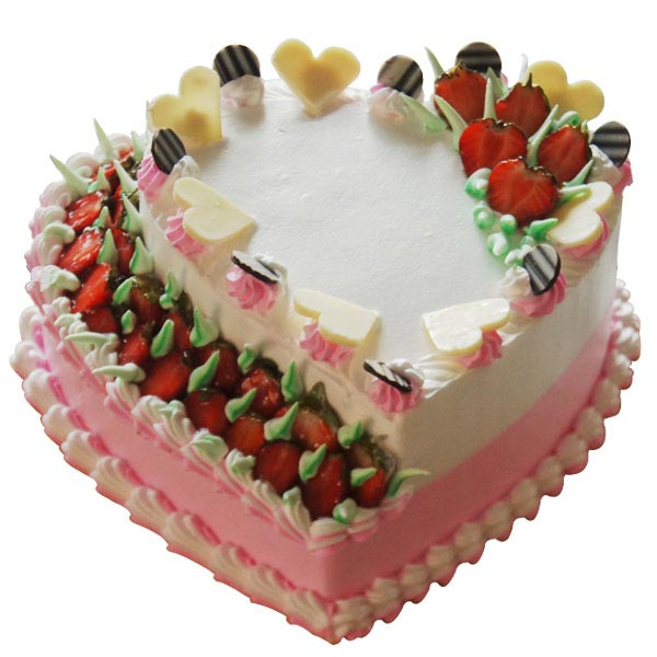Strawberry Indulgence Cake - 2 Kg