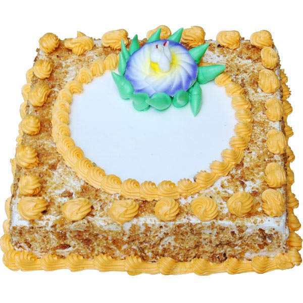 The Butterscotch Crackle Cake