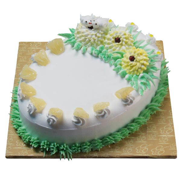 The Pineapple Tickle Cake - 1.5 Kg