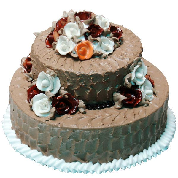 Two Tier Chocolate Cake
