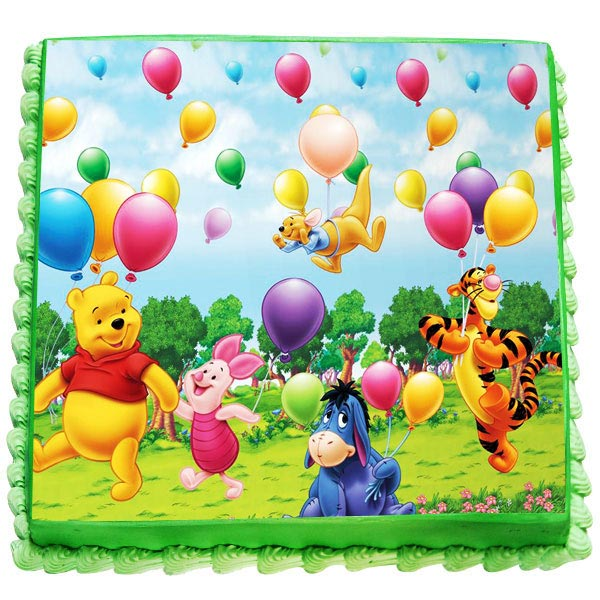 Send Winnie The Pooh Birthday Cake Gifts To Bagalkot