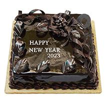 Choco New Year Cake
