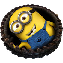 Cool Minion Photo Cake