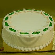 Creamy Sphere Sugar Free Cake