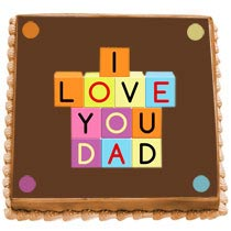 Dazzling Cake For Dad