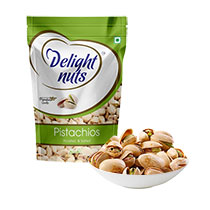 Anniversary Gifts To hyderabad. Delight Nuts Pistachios 200gms