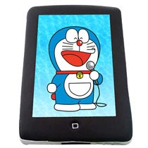 Singing Doraemon Photo Cake