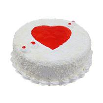 Valentine White Forest Cake 15kg